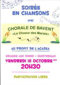affiche chorale de Bavent oct 2019 (1)